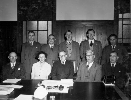 ACT Advisory Council 1953
