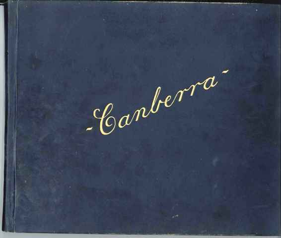 Cover of Presentation Album to Walter C Hankinson
