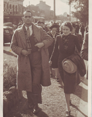Hal and Ella Buttsworth at Sydney