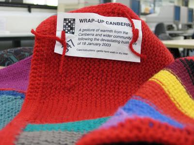 Wrap Up Canberra Blanket