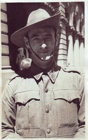 Hal Buttsworth in uniform