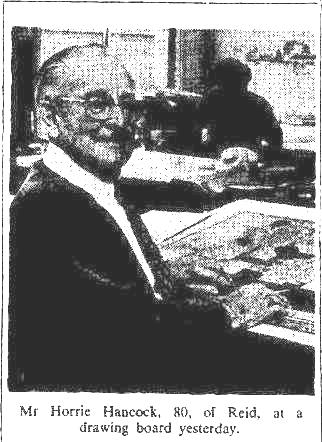 Horace Hancock at home